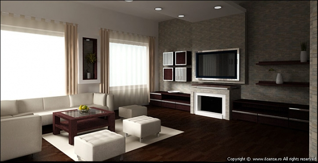 Design interior cluj living poze design interior apartamente senses - Intorio dijayin ...