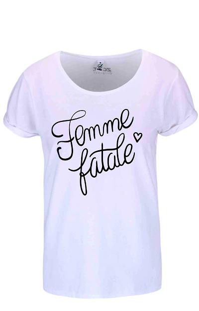 Tricou alb pentru femei