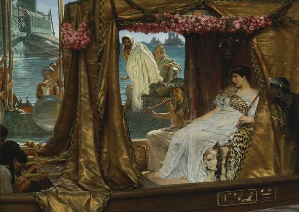 cleopatra si marc antoniu