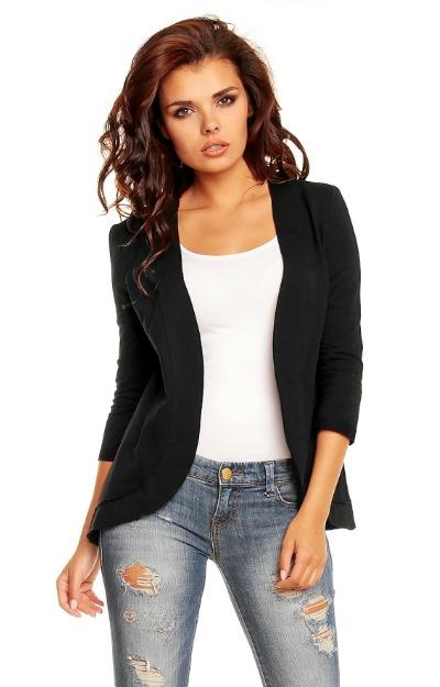Sacouri: Sacou negru elegant