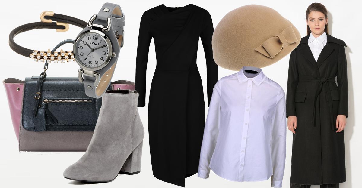 Outfit cu rochie midi