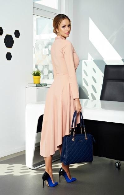 Rochii midi: Rochie eleganta asimetrica