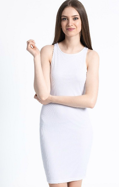 Rochie din tricot neted