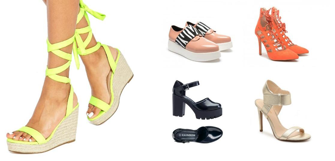 pantofi si sandale cu snur boho sau tip gladiator