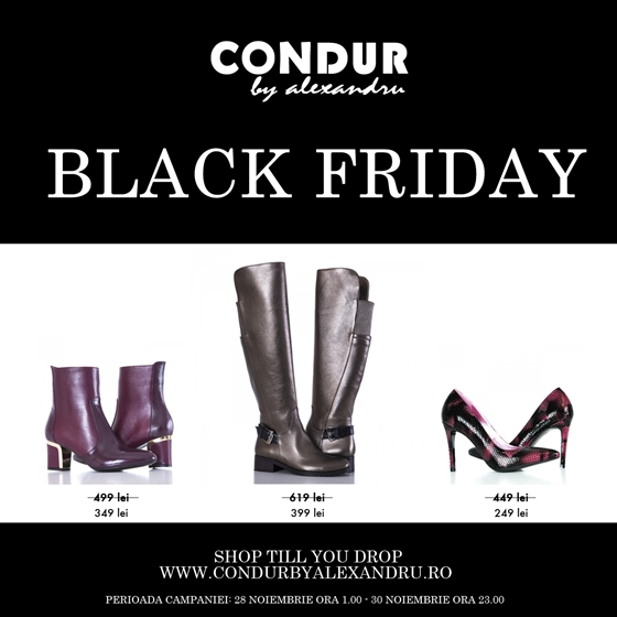 black friday condur by alexandru