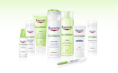 gama Eucerin DermoPURIFYER