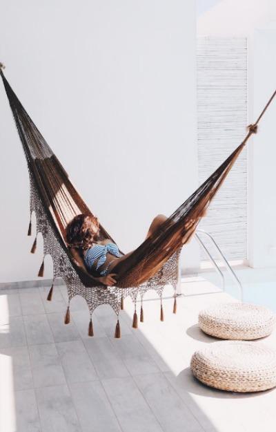 Schimb patul cu hamacul