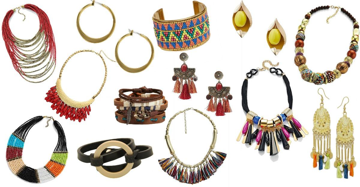 Accesorii pentru un look african
