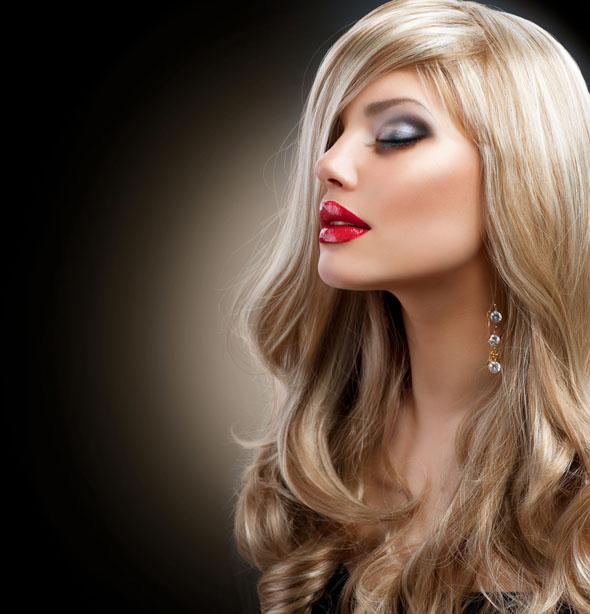 ingrijirea parului blond