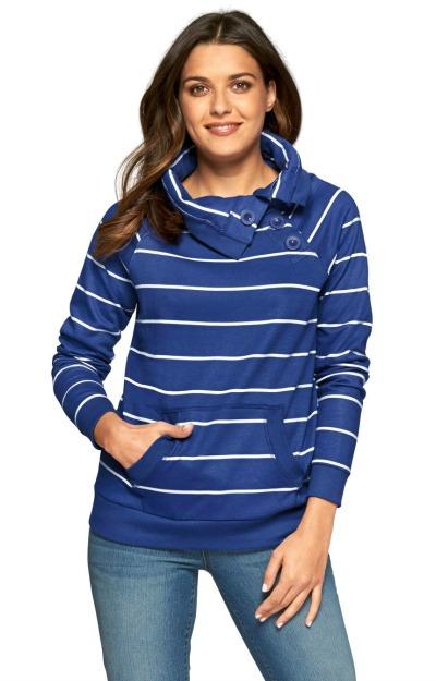 Bluze in dungi: Bluza cu guler inalt