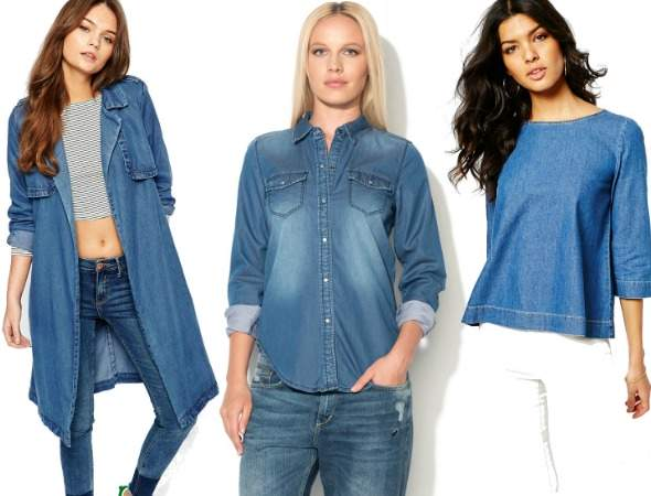 Tendinte denim: Bluze de blugi