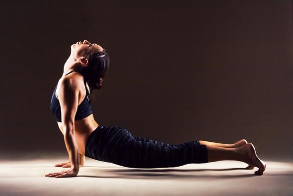 pozitie de yoga