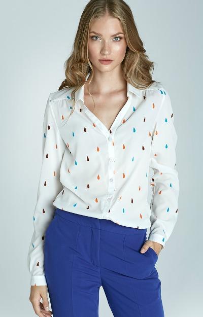Camasa-alba-cu-imprimeu-multicolor