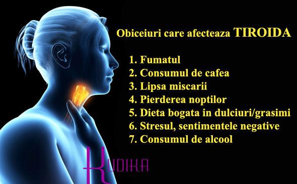 cauzele afectarii tiroiei