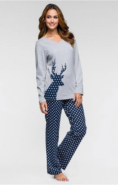Pijamale: Pijama cu ren