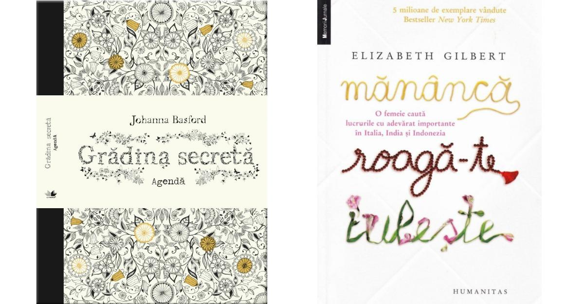 Cadouri pentru femei: Carti si agende