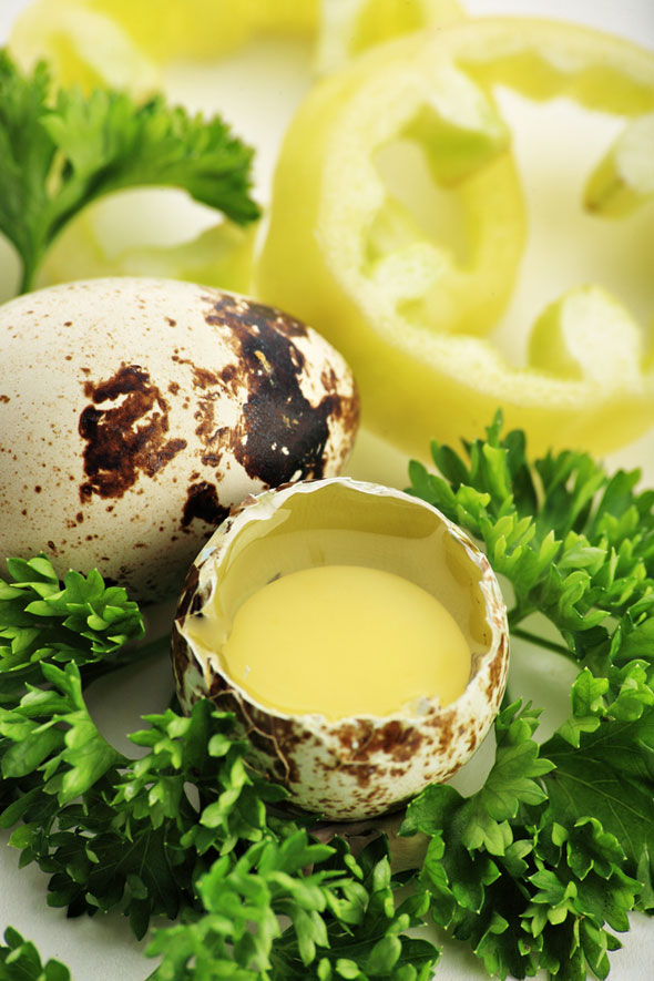cura cu oua de prepelita crude