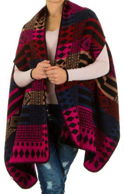 Modele de poncho: Poncho tricotat