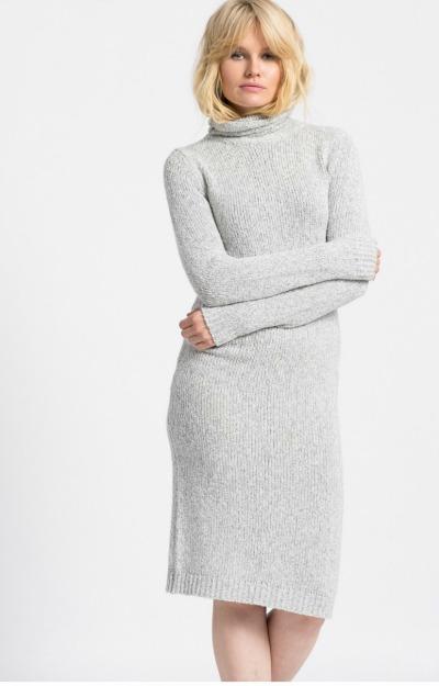 Rochii de iarna: rochie office cu guler