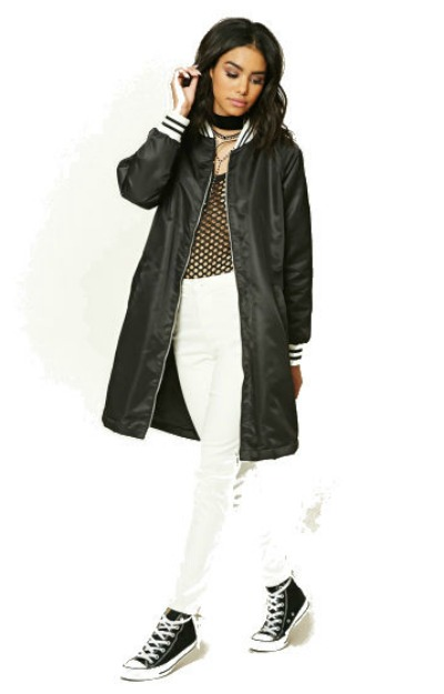 Jachete de ploaie: jacheta lunga Forever 21