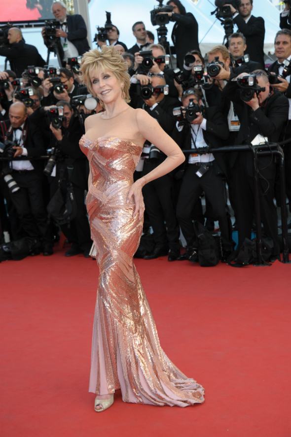 Jane Fonda la Cannes