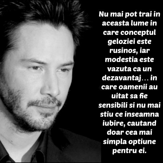 citate despre viata nedreapta Cele mai frumoase citate de viata oferite de Keanu Reeves citate despre viata nedreapta