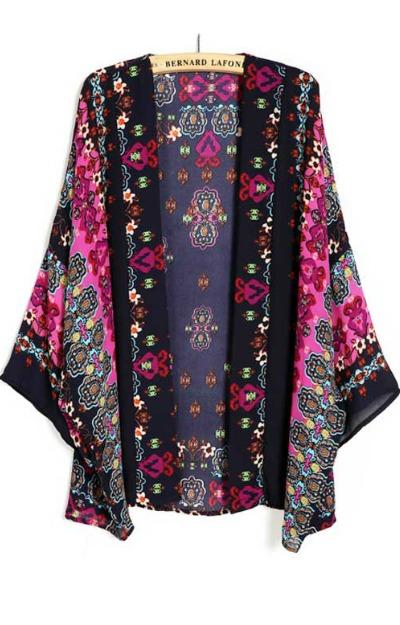 Kimono-negru-Stil-Etno-din-Voal-cu-motive-traditionale