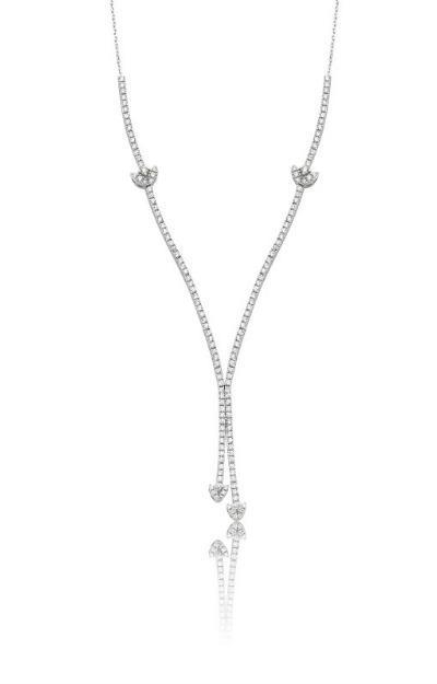 Bijuterii cu diamante: colier cu diamante