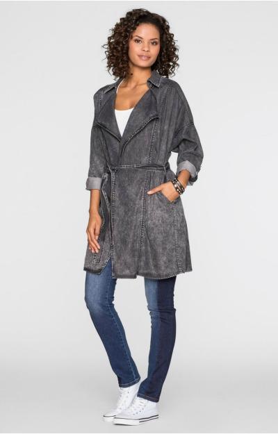 Jachete de blugi: Mantou gri