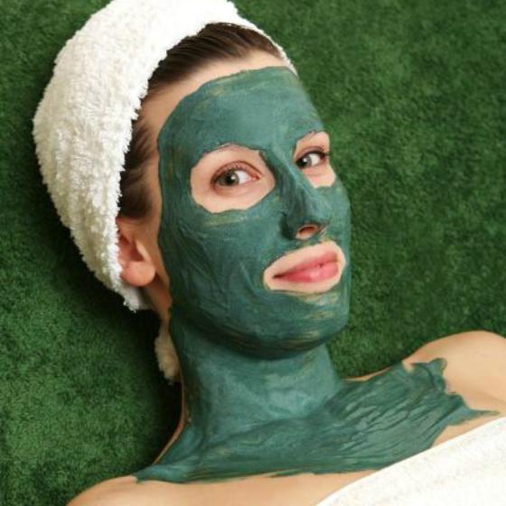 Argila verde masca