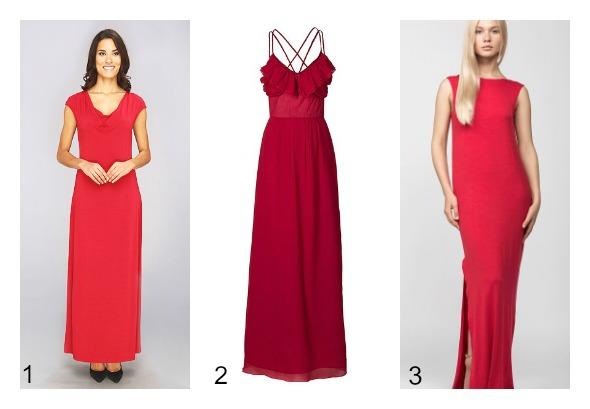 rochii rosii
