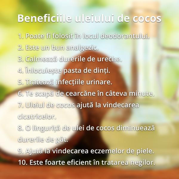 Ulei de cocos intrebuintari par