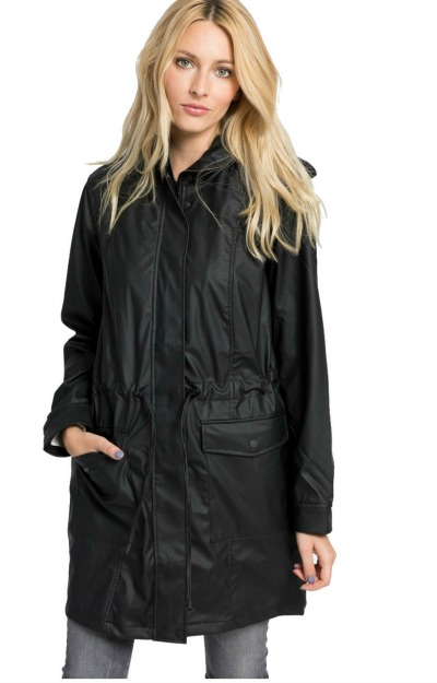Geci de ploaie: palton impermeabil