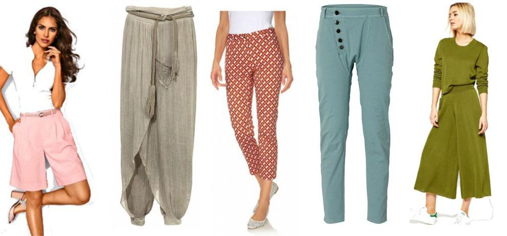 Pantaloni primavara-vara 2016
