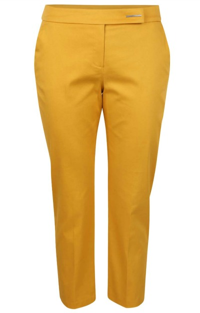 Culori de toamna: Pantaloni galben mustar