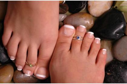 unghiile de la picioare
