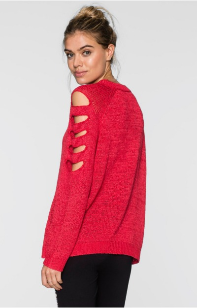 Pulovere de toamna: Pulover tricotat
