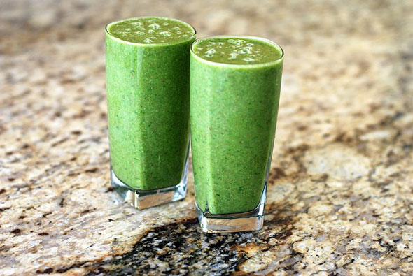 reteta smoothie verde