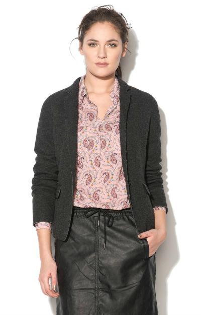 Sacouri elegante: Sacou din amestec de lana