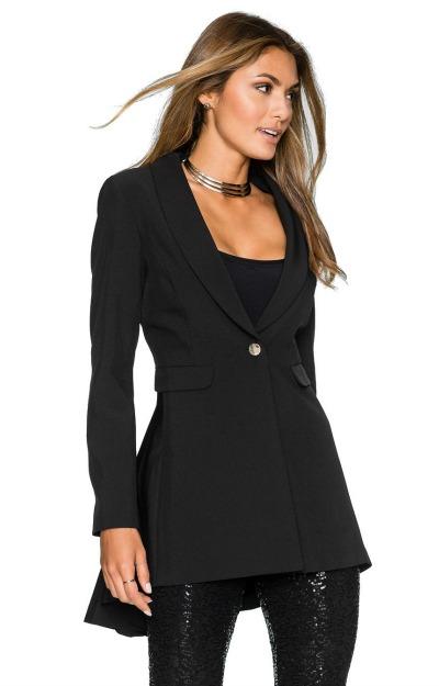 Sacouri elegante: Sacou negru