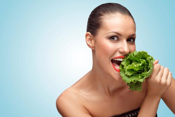 cura de slabire cu salata