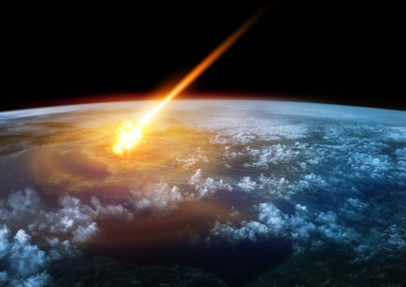 impact asteroid