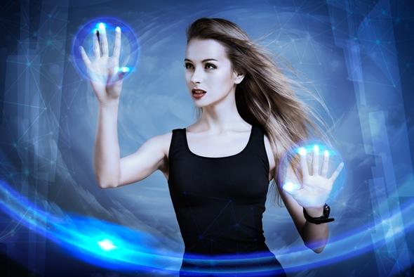femeie din viitor