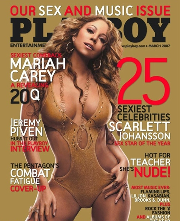 mariah carey playboy