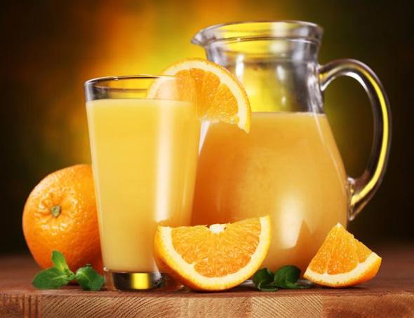 suc natural de portocale