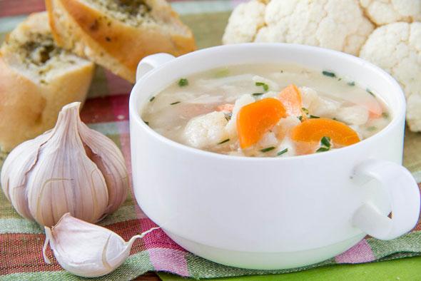 supa de usturoi - reteta pentru cresterea imunitatii