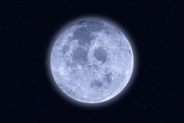 super luna plina