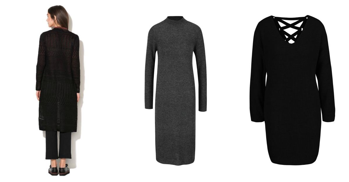 Cardigan - rochii tricotate