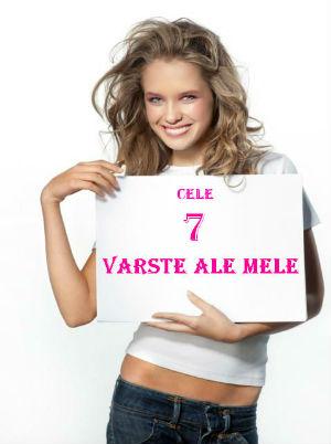 cele 7 varste ale femeii