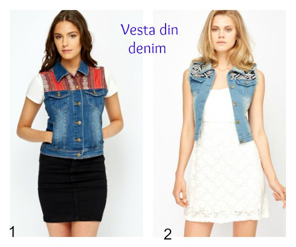 vesta din denim